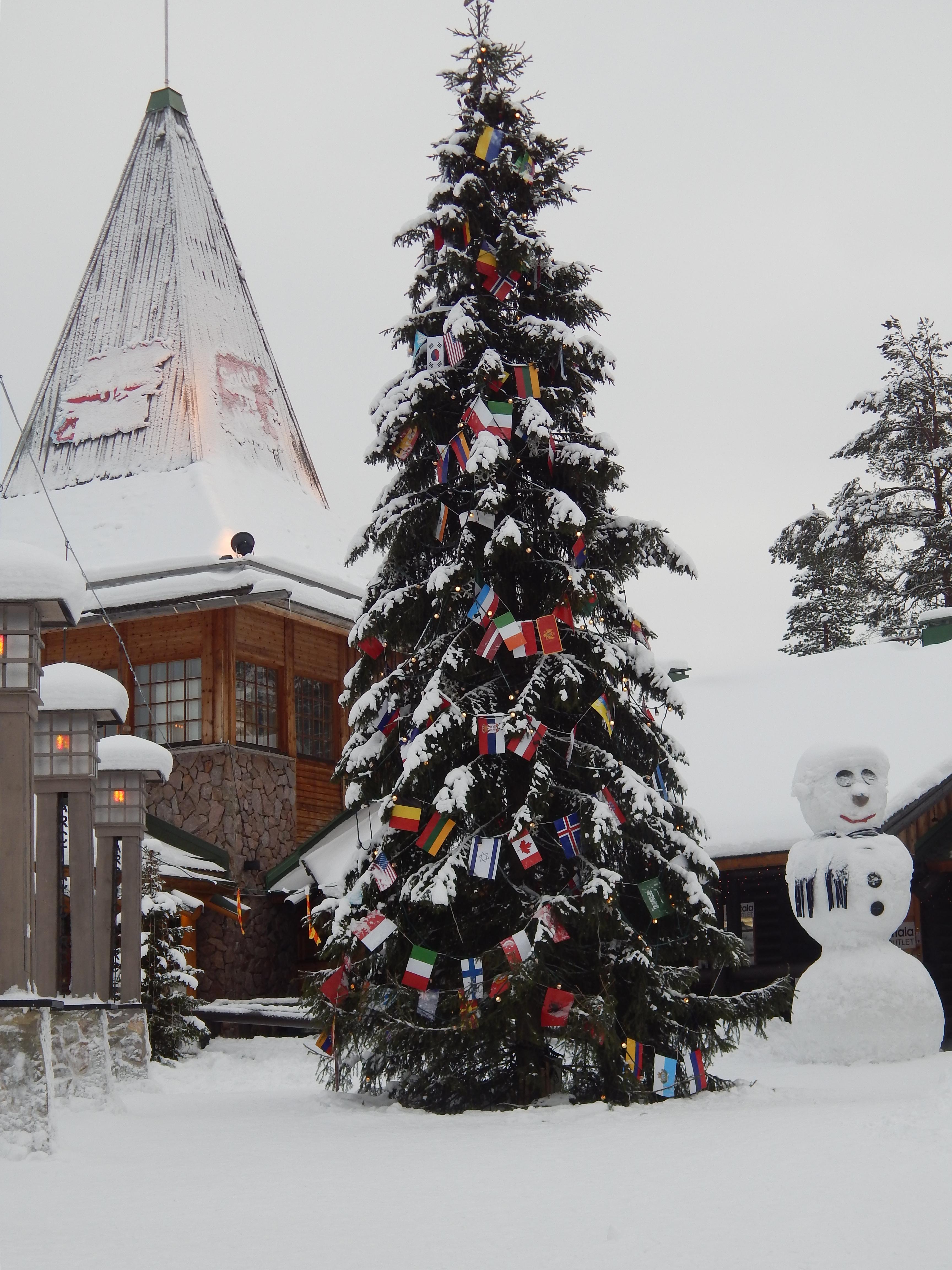 Voir le Père Noël en Finlande