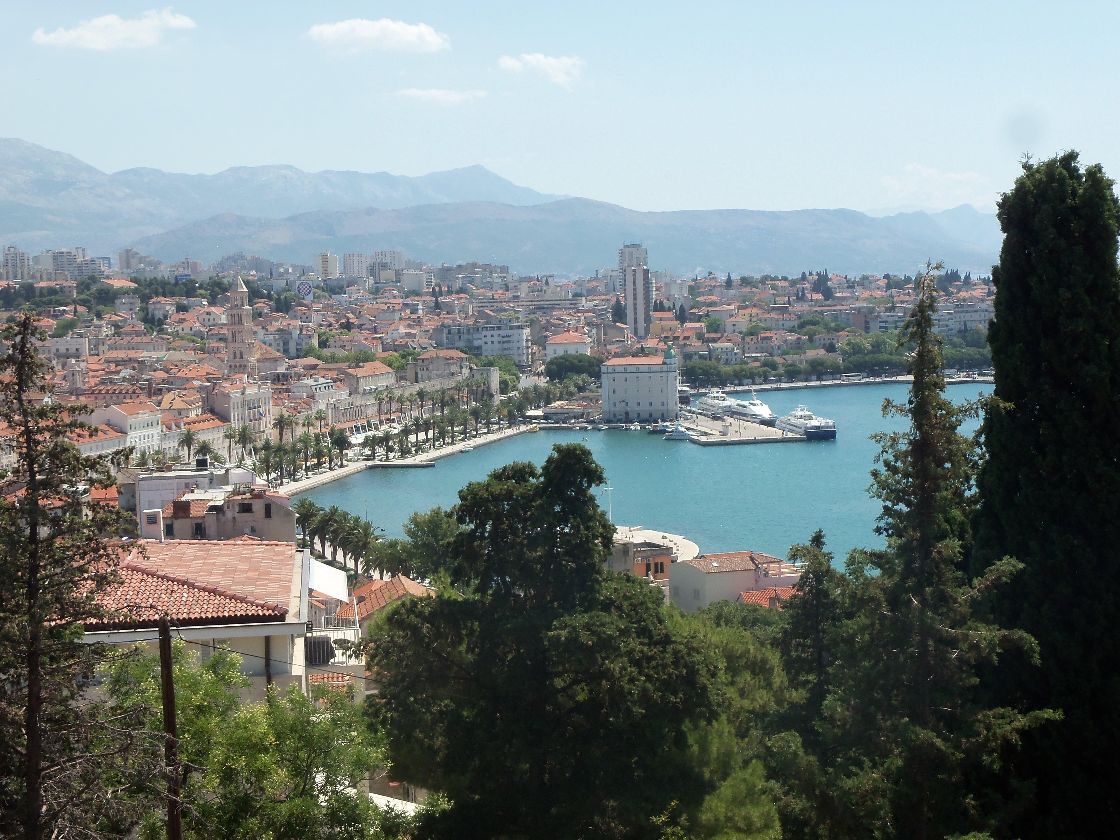 Sous le soleil croate: Split