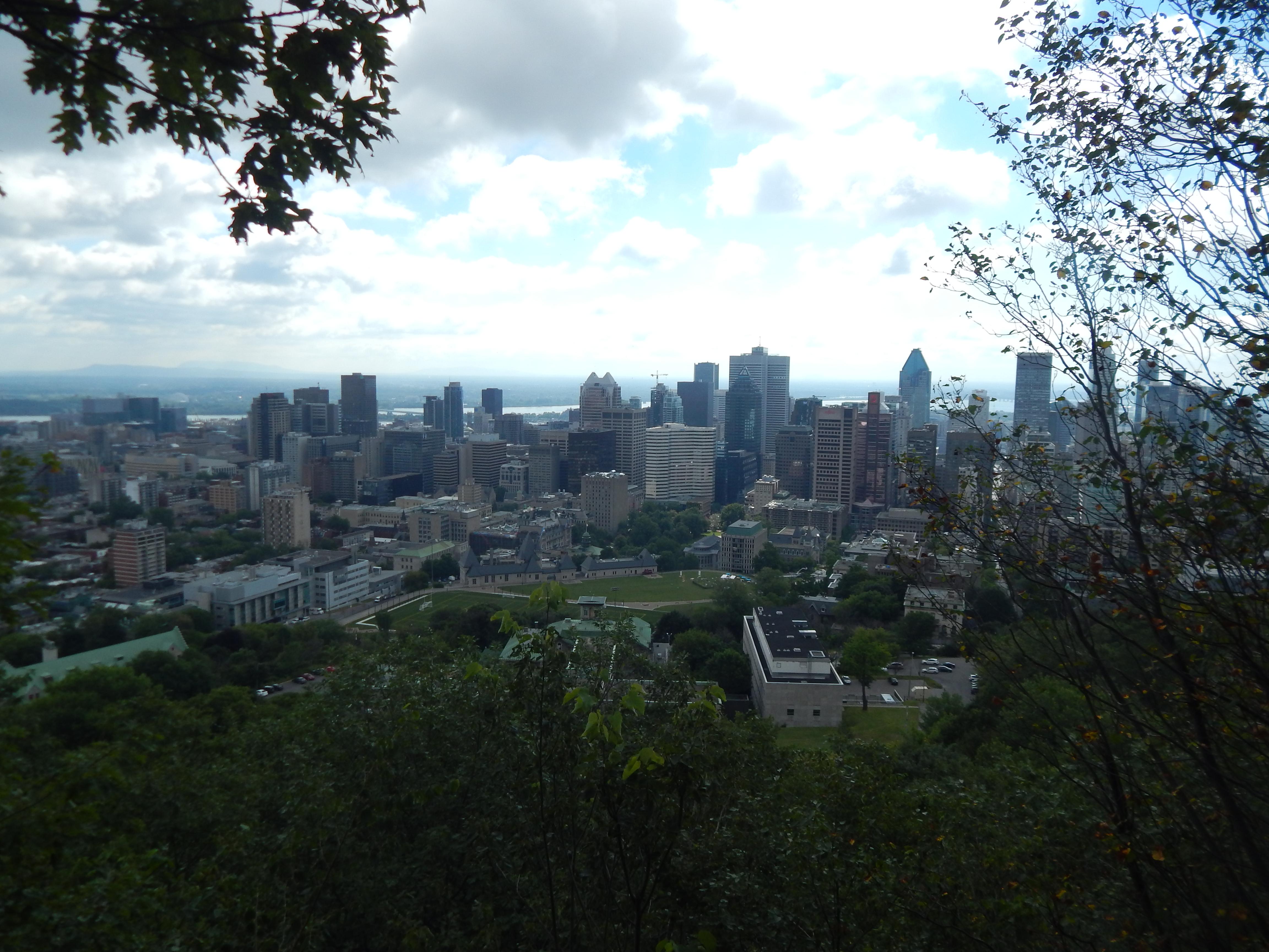 Une belle journée à Montréal