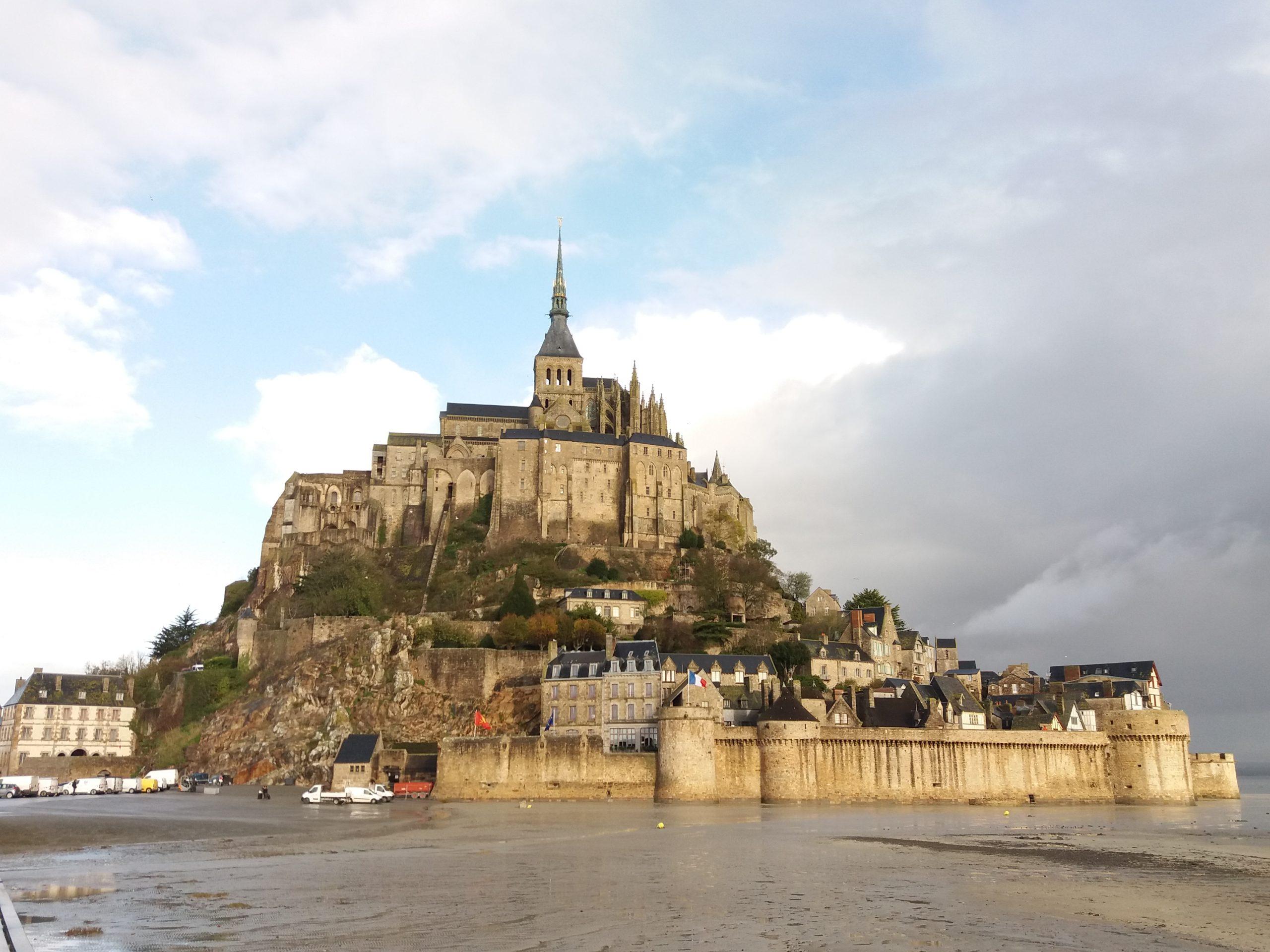 Le Mont Saint-Michel, un joyau français